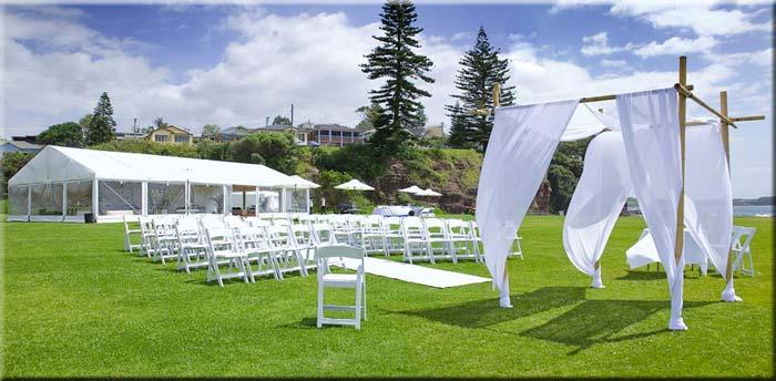 Hochzeits-Partyzelt
