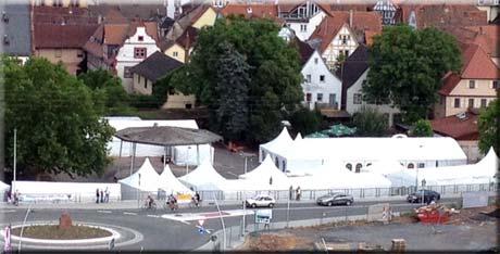 """Unsere Zelte machen überall eine """"gute Figur""""!"""